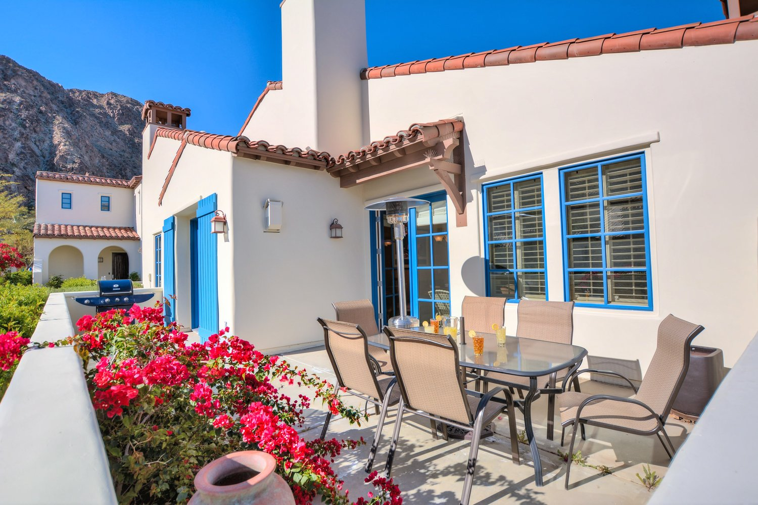 Single Level Town Home at Legacy Villas, La Quinta