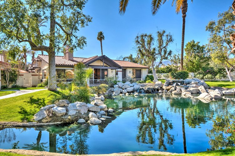 Waterfront Home at Los Lagos in Indian Wells