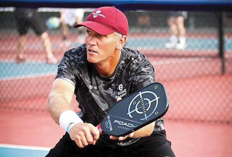 Marcin Rozpedski won the gold medal at the 2016 U. S. Open Pickleball Championship.   PHOTOGRAPH COURTESY OF MARCIN ROZPEDSKI