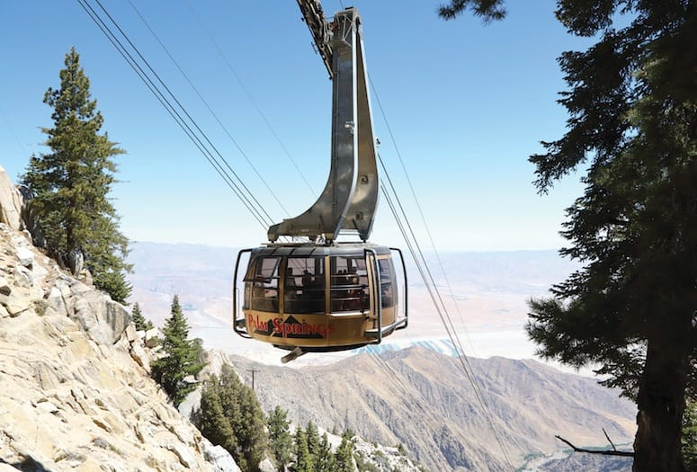 PHOTOGRAPH COURTESY PALM SPRINGS AERIAL TRAMWAY