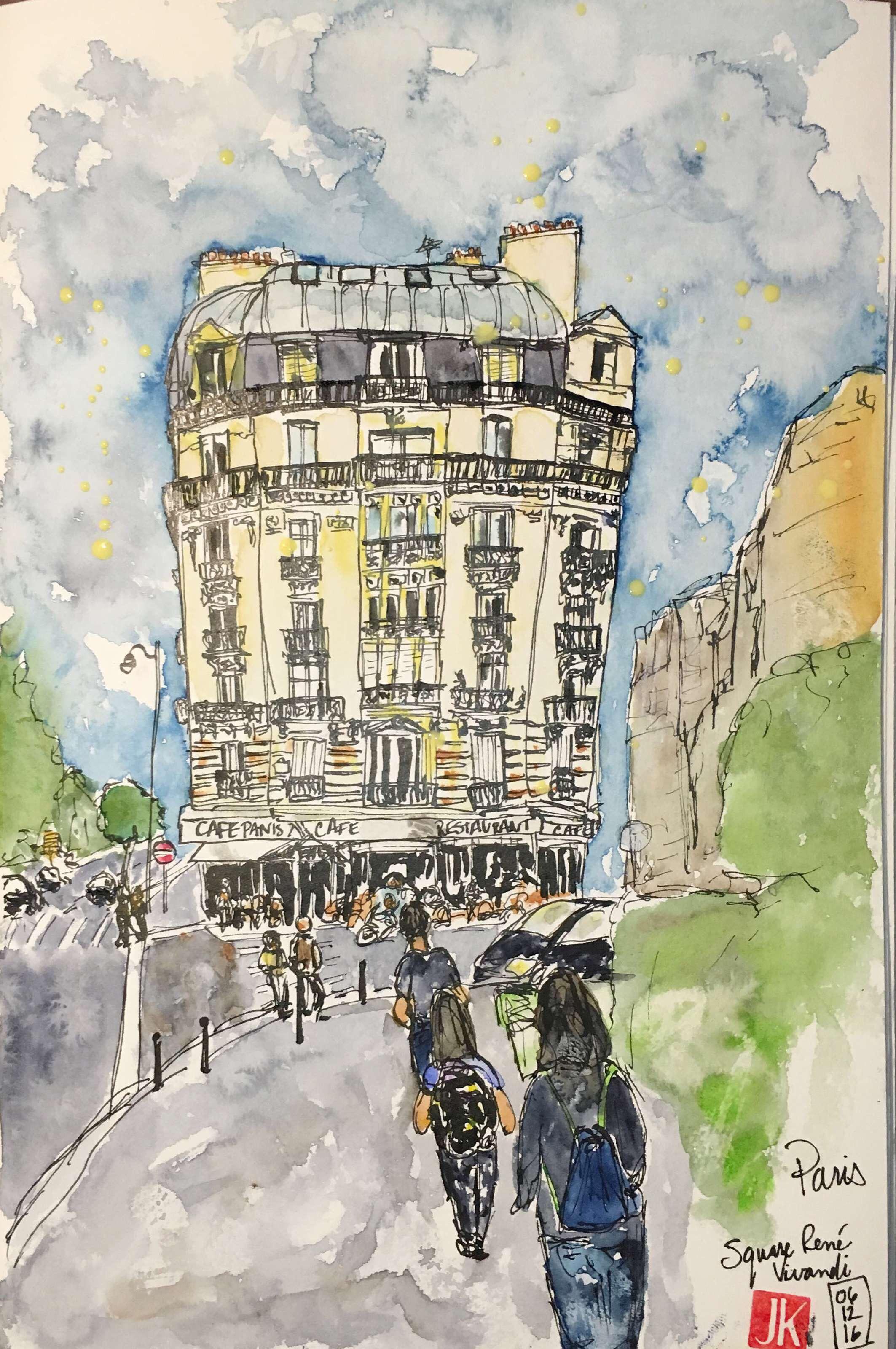 A sketch of Square Renè Vivandi