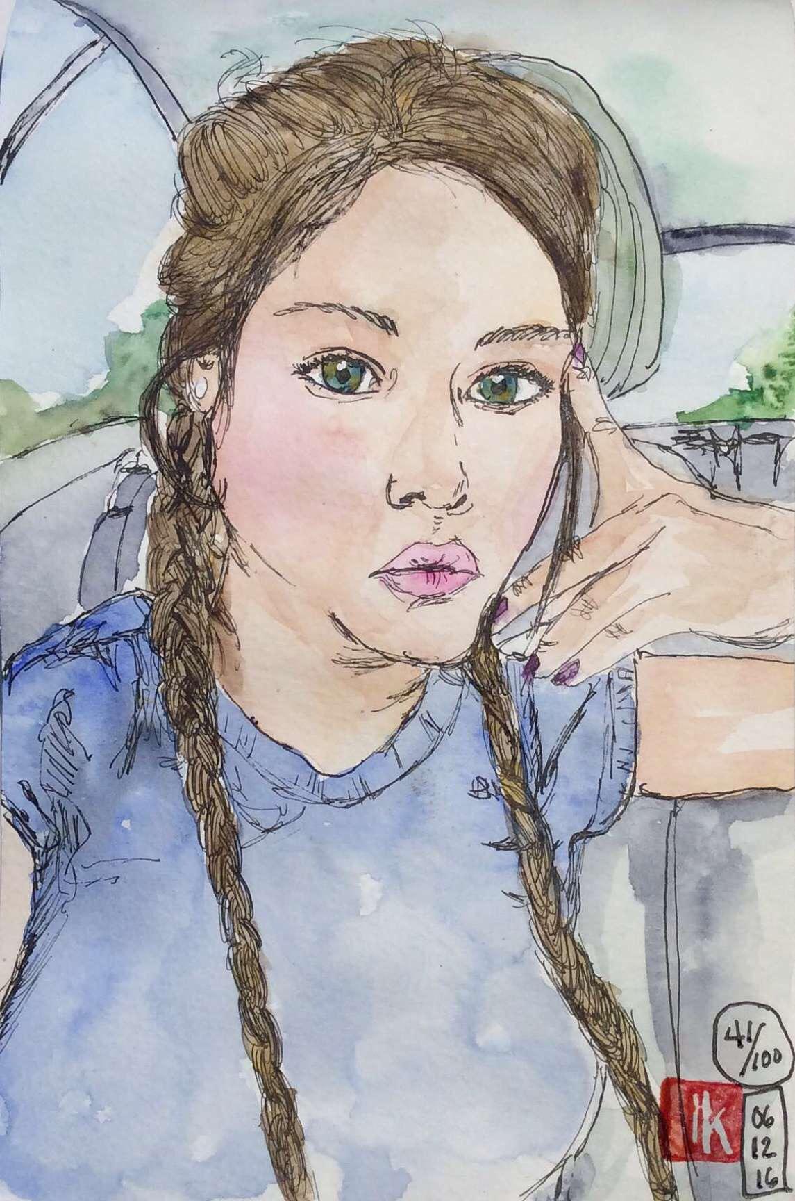 Portrait 41/100