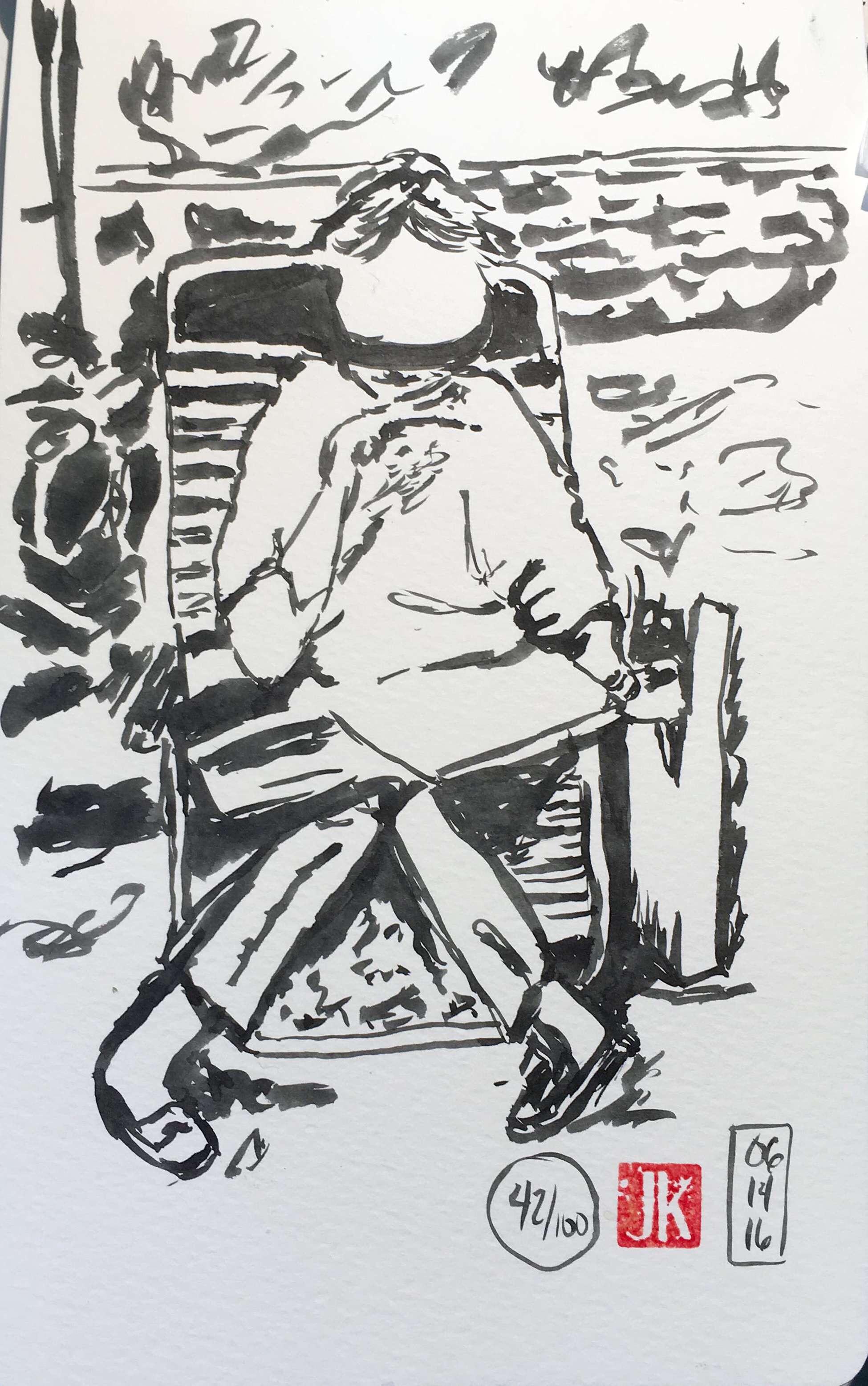 Portrait 42/100