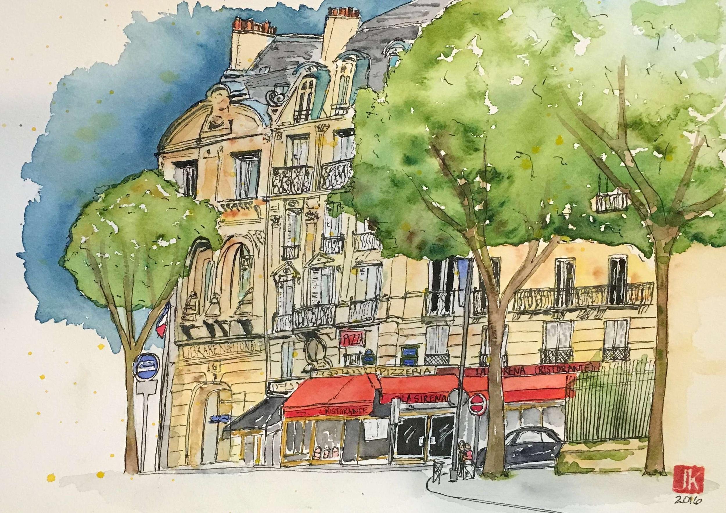 Square de Cluny, Paris