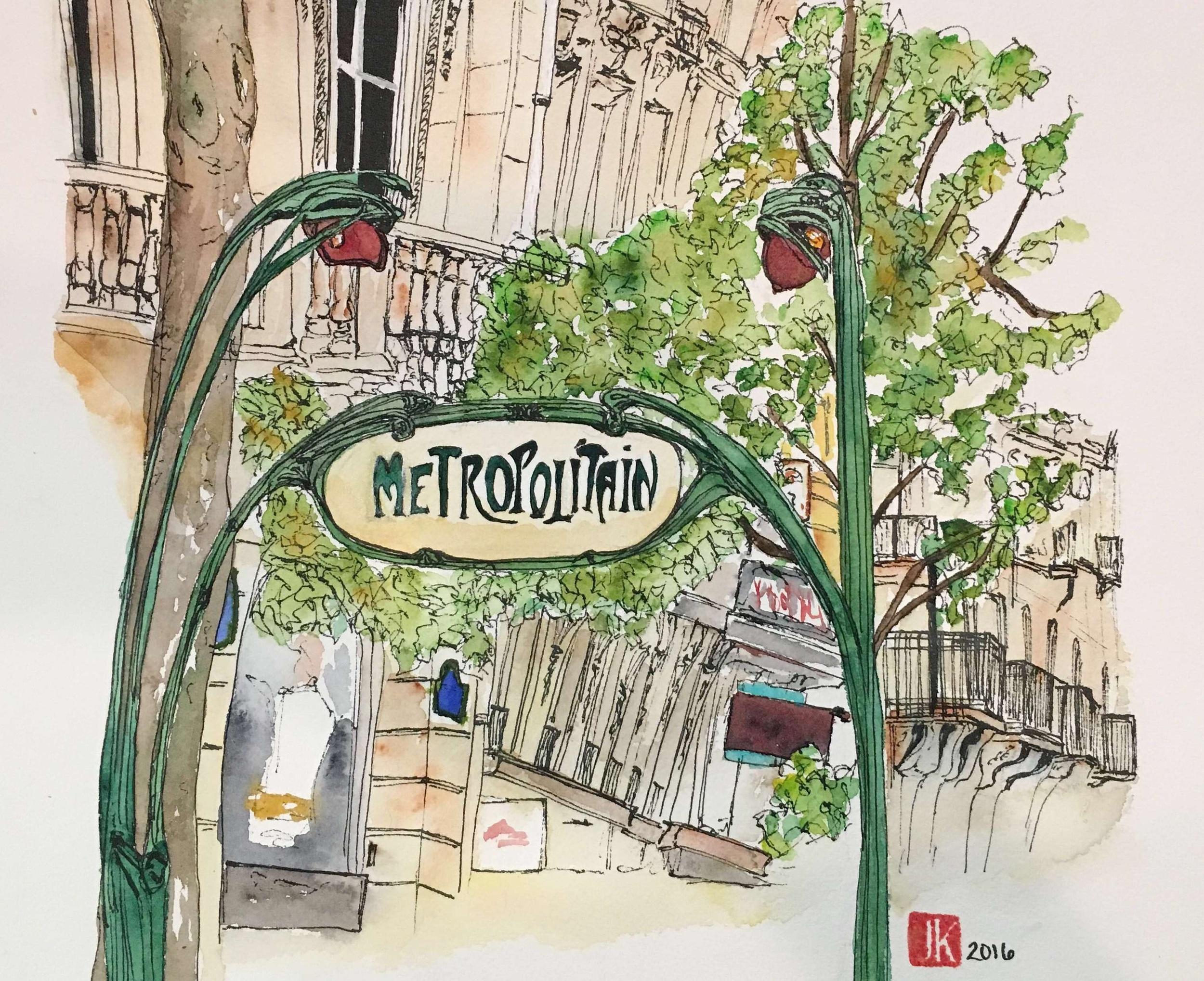 Paris Metro, 5th Arr.