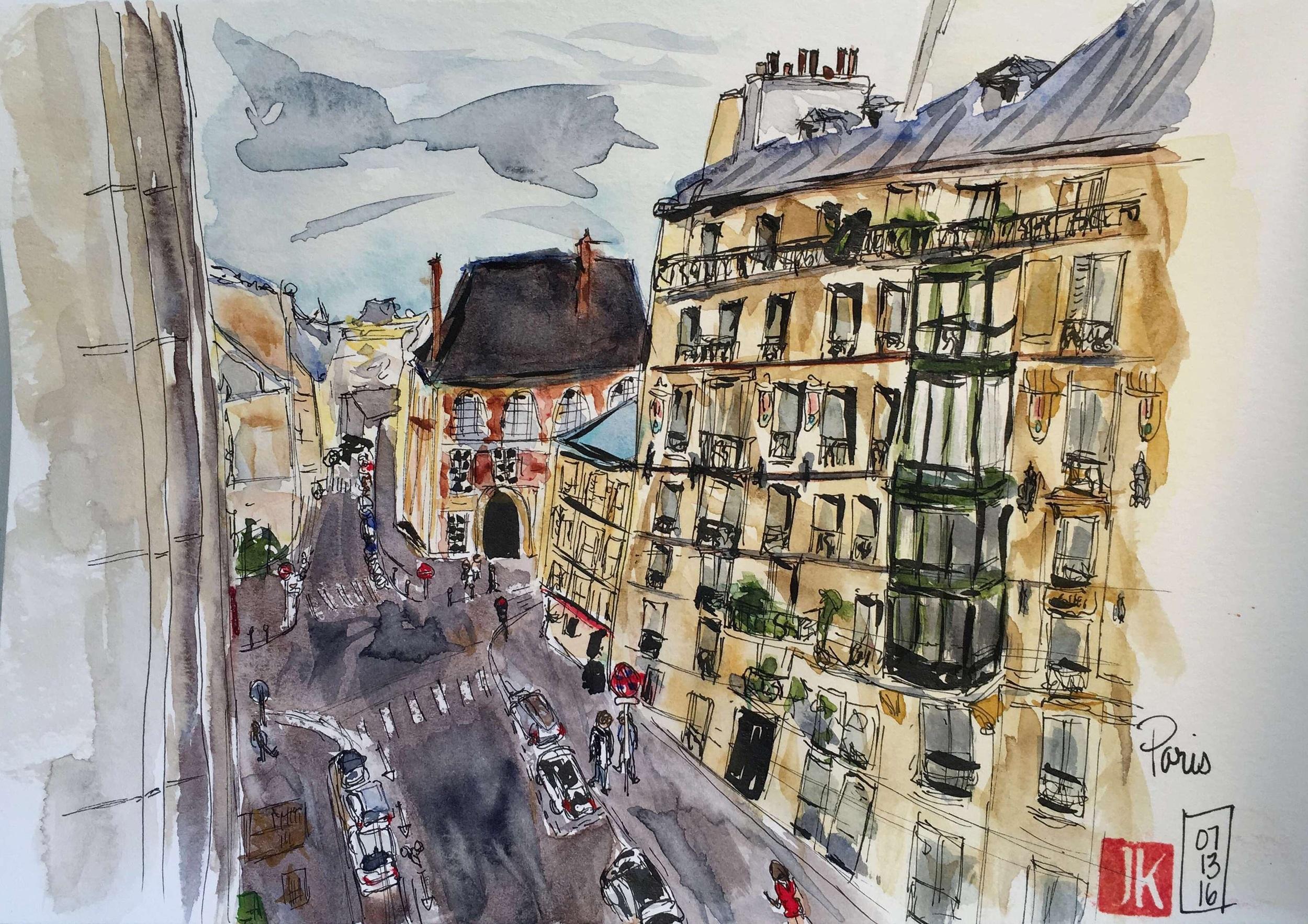 Paris - Villa Daubenton