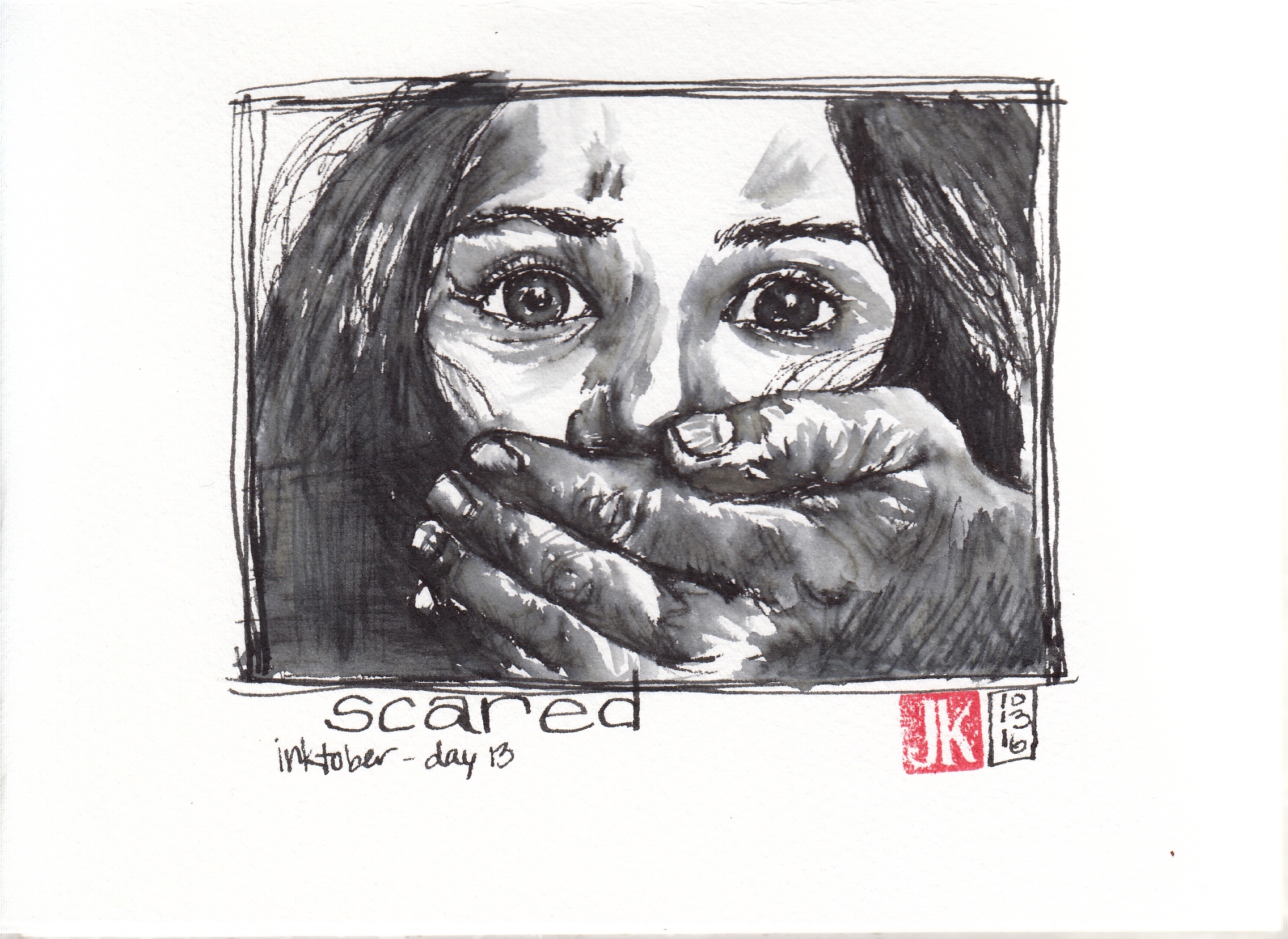Day 13 - Scared