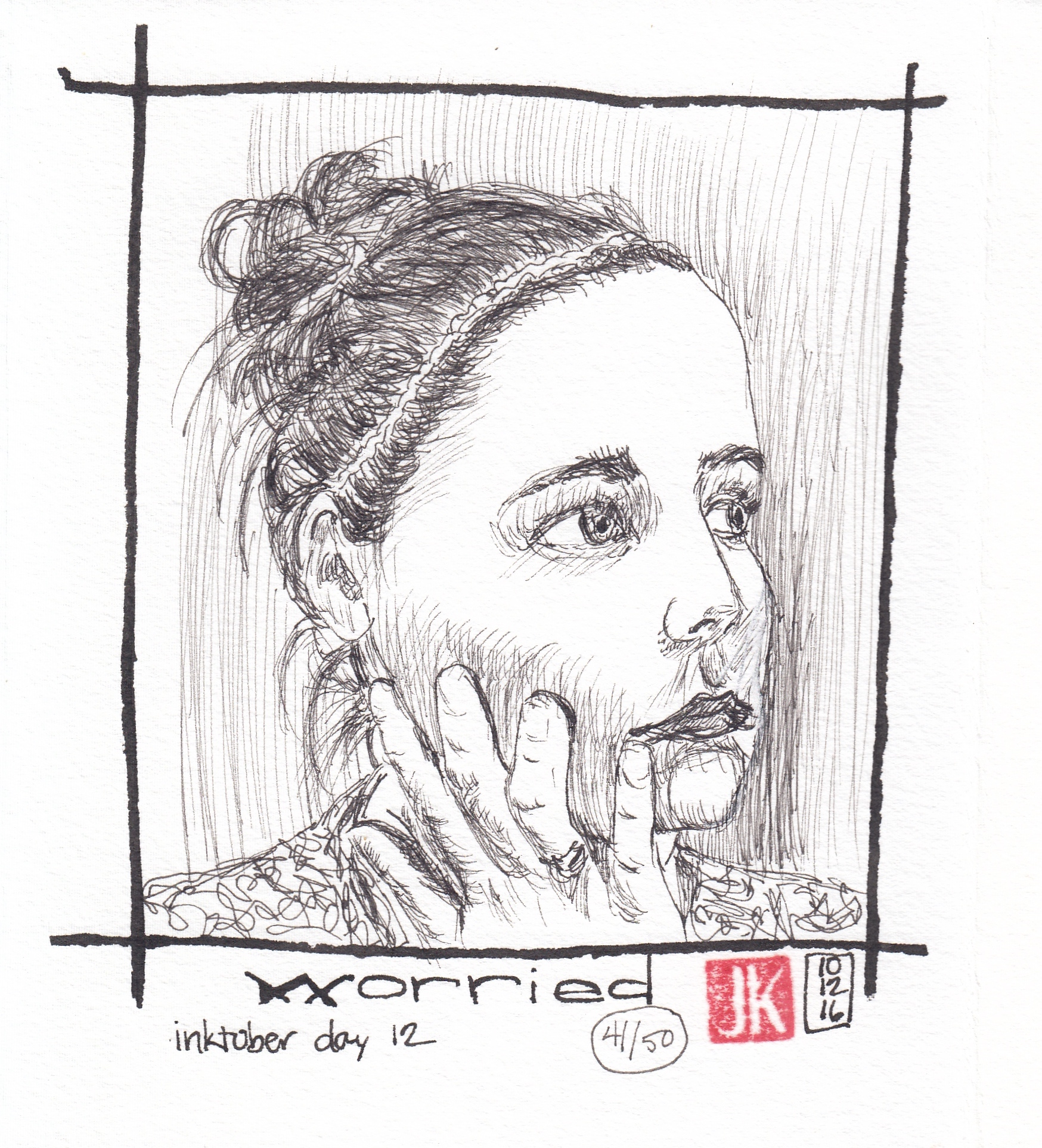 Day 12 - Worried