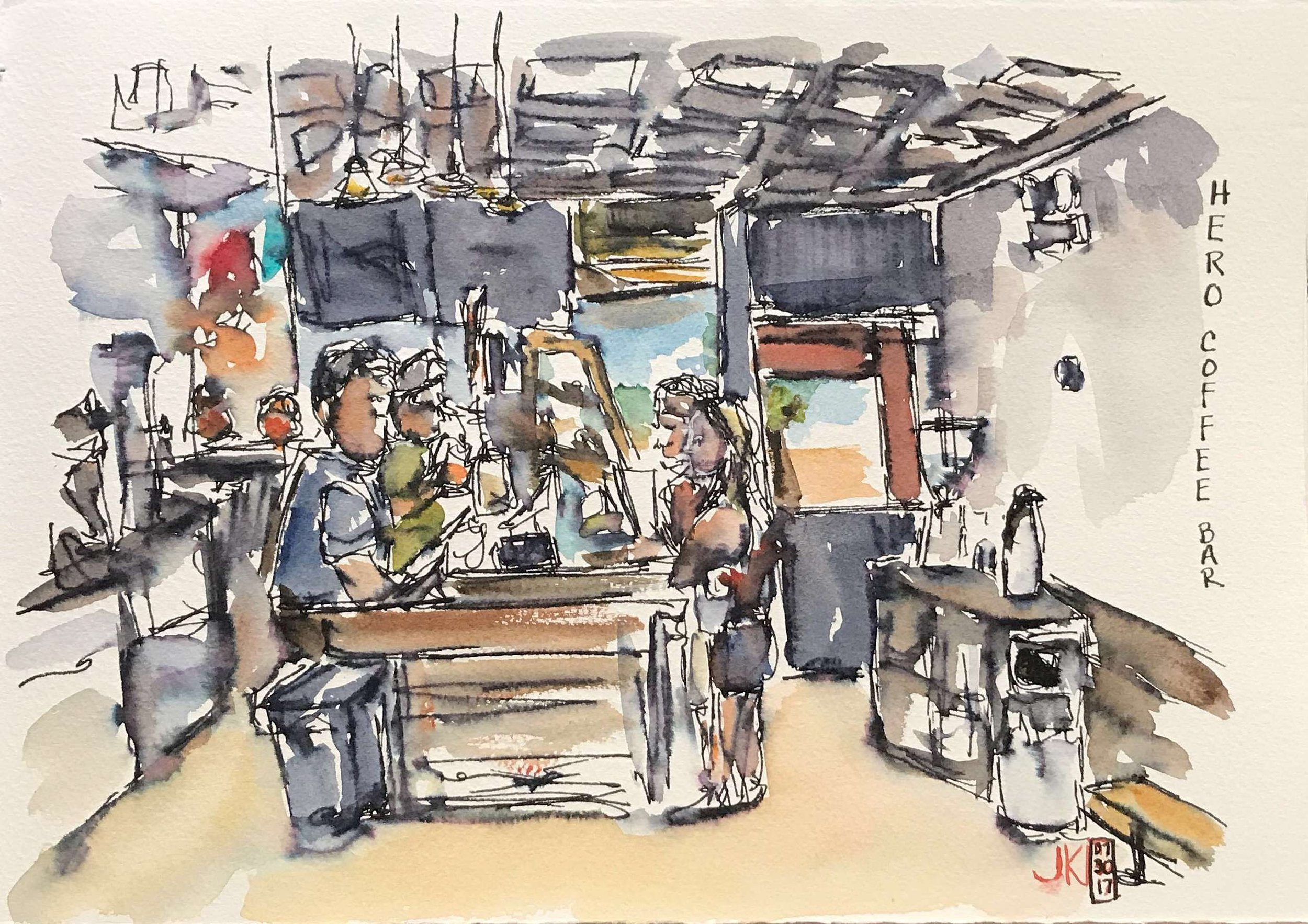Hero Coffee Bar - near our hotel