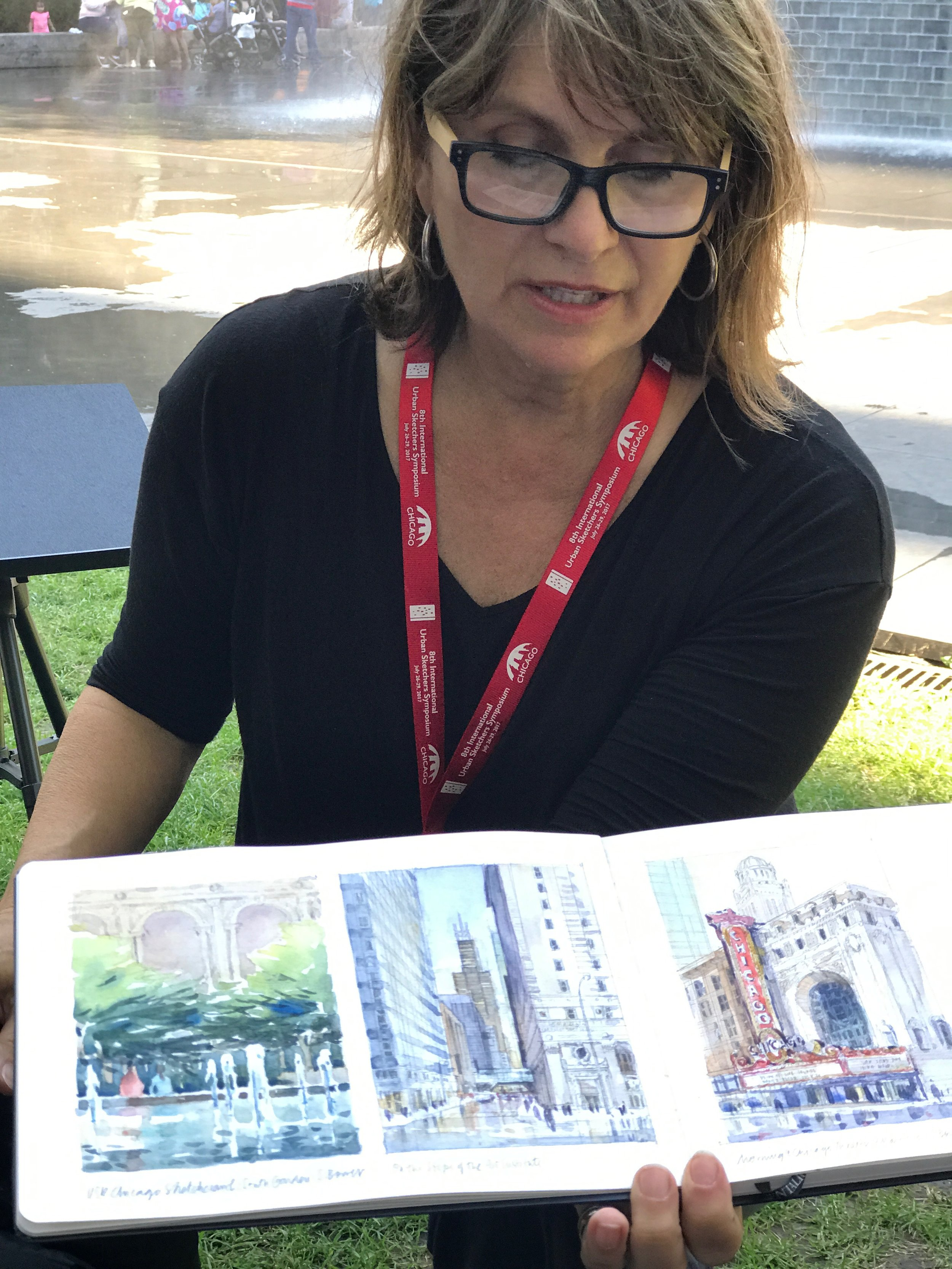 Stephanie's Chicago sketches