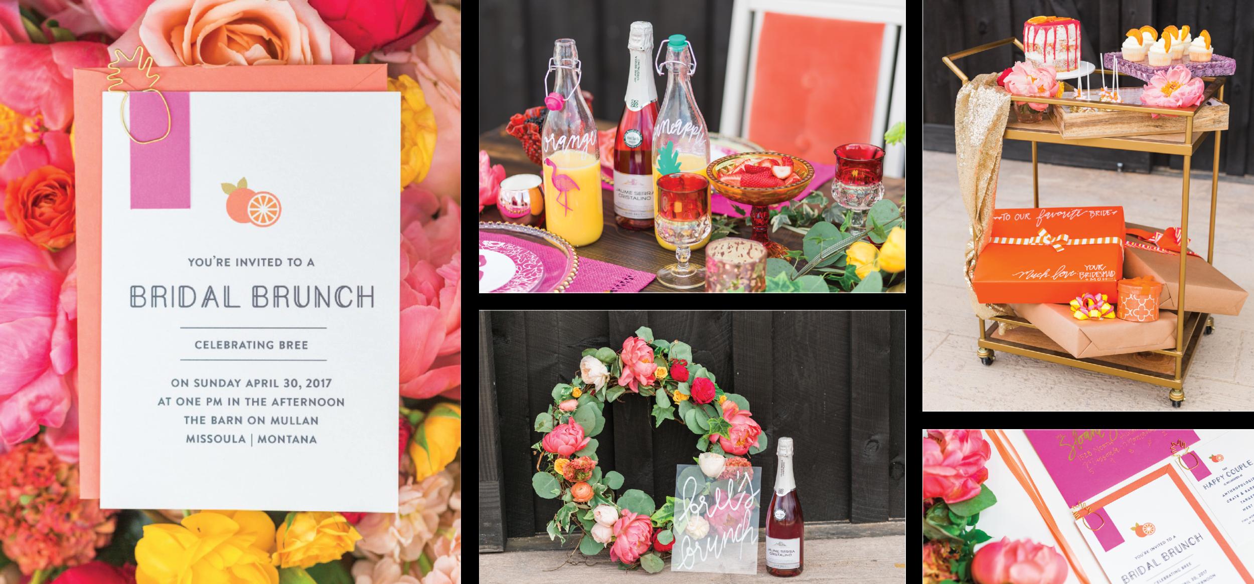 Bridal Shower Shoot. April 2017. Photos courtesy of  Paige Marie Photography . Florals:  Bitterroot Flower Shop . Design:  Soiree 99 Events .