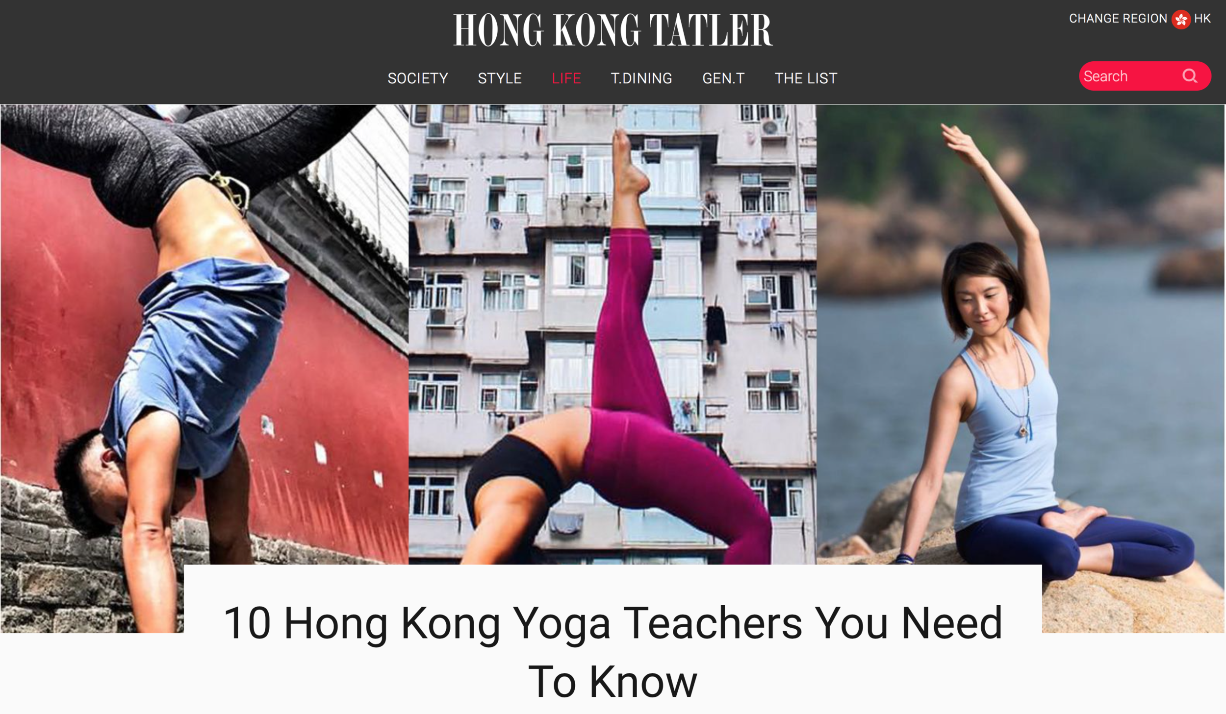 10 Hong Kong Yoga Teachers You Need To Know - Hong Kong Tatler