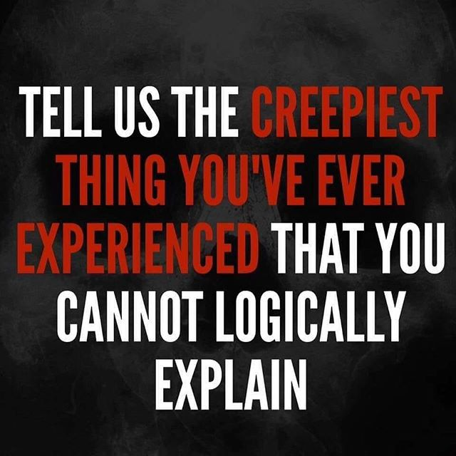 Sharing from the Appalachian Truth Seekers page. What has been your creepiest experience? Share in the comments below. 👇 #justinchasemullins #psychicmedium #successquotes #inspirationalquotes #yoga #psychic #medium #meditation #motivation #health #paranormal #discoverychannel #travelchannel #ghosts #ghoststories