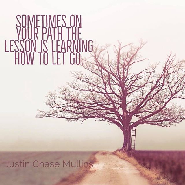 Life is about learning how to let go. That's very critical for your own growth and moving forward on your path. You cannot make room for new by holding onto the old. #justinchasemullins #successquotes #inspirationalquotes #yoga #discoverychannel #paranormal #meditation #motivation #motivationalquotes #successquotes #business #health