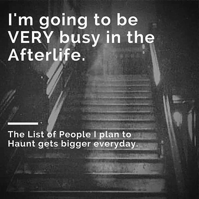 Some Friday humor 👻  #justinchasemullins #psychic #medium #meditation #inspiration #business #paranormal #ghosts #travelchannel