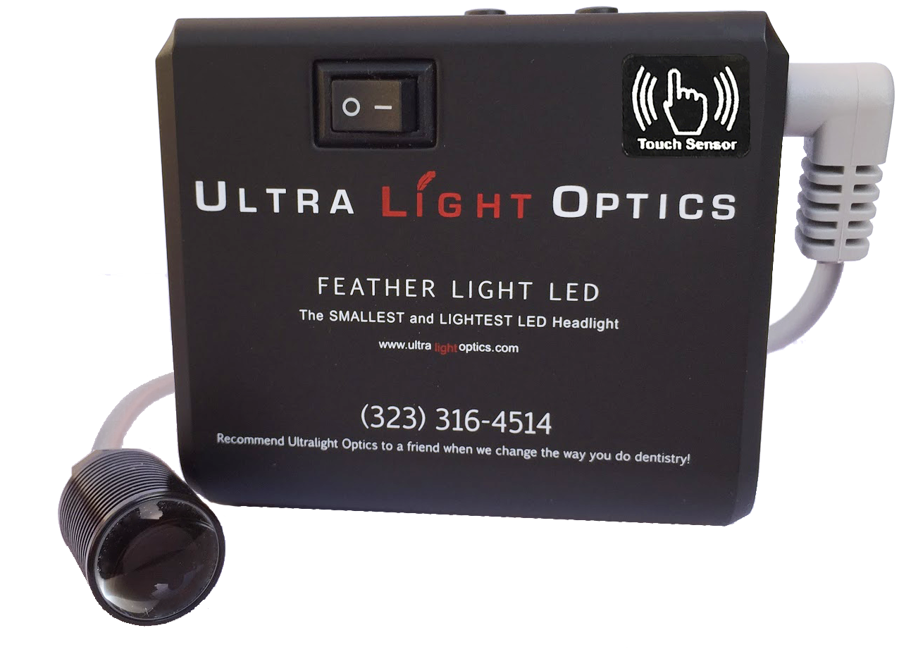 Feather Lite by Ultra Light Optics - touch control