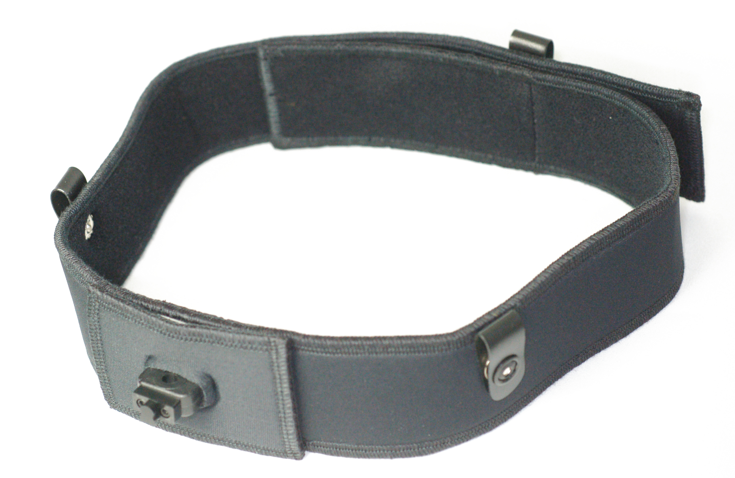 Soft head strap for veterinary loupes