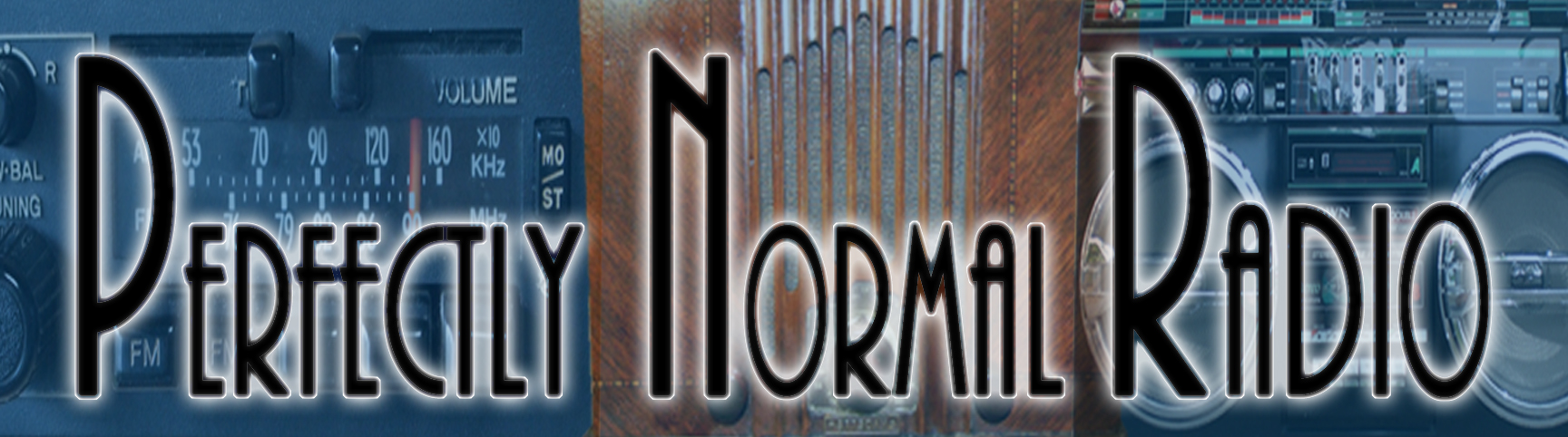 Perfectly Normal Radio Header