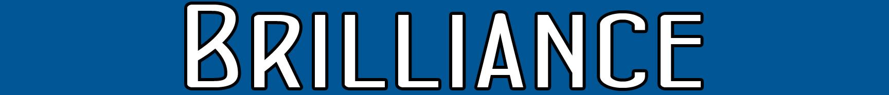 Brilliance Title Banner