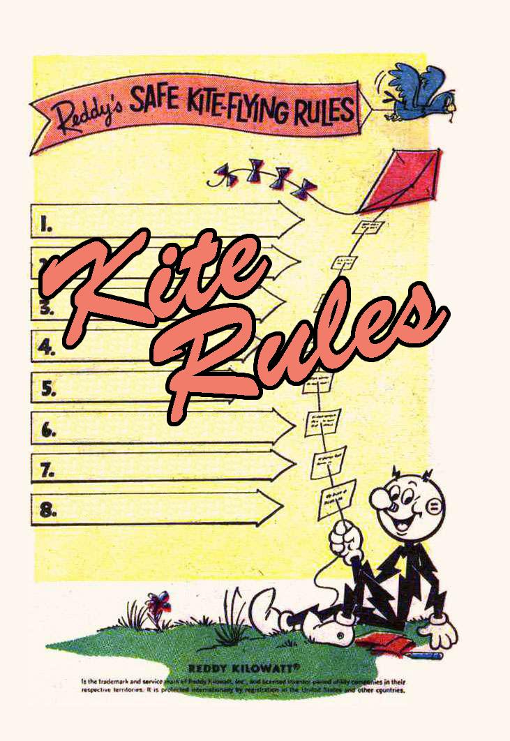 Click Thru Comics Menu - Kite Rules