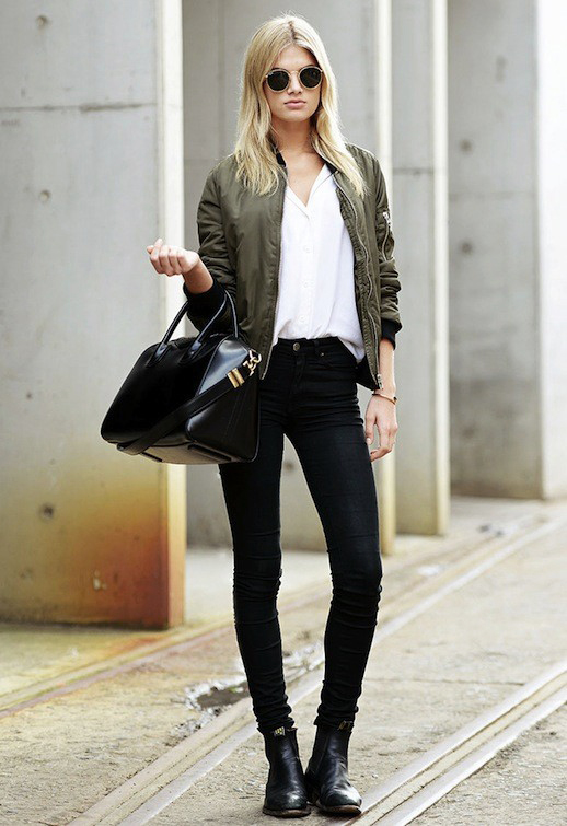 Le-Fashion-Blog-Model-Off-Duty-Style-Megan-Irwin-Ray-Ban-Round-Sunglasses-Green-Bomber-Jacket-Givenchy-Bag-Black-Jeans-Boots-Via-Carolines-Mode-1.jpg