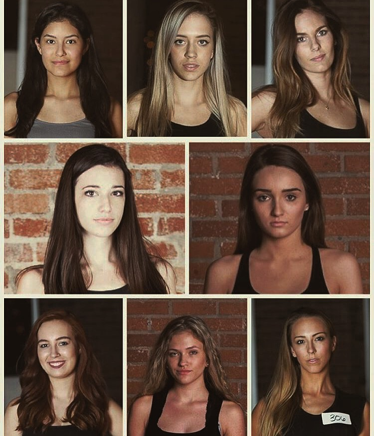 "Collage by Tiffany Brown of TRBrown. Models selected from the roster for her ""Chelsea Girls"" collection. These looks are all great inspirations for a successful audition look!"