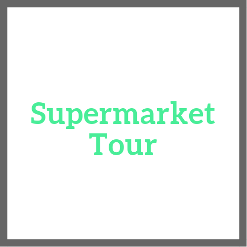 1-Hour Personalized Tour Walk through your supermarket with an expert Learn which products are important to avoid & how to prevent falling for misleading labels Learn about the real healthy products available at your store Understand how to read nutrition labels Discuss when to purchase organic vs. conventional foods Essential handout provided during tour Bring a guest for FREE!