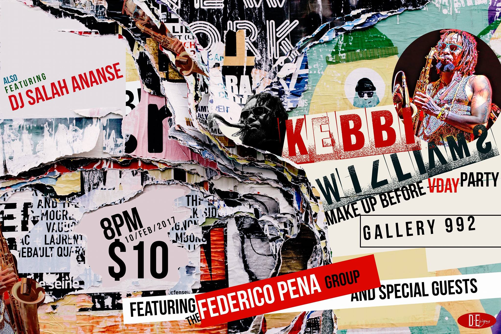 Kebbi's Birthday/Valentines party with Federico Pena.