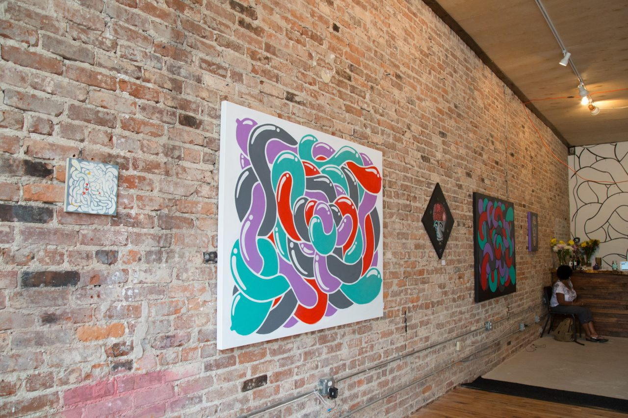 """Travis Love's """"Invision"""" ehibition at Gallery 992"""