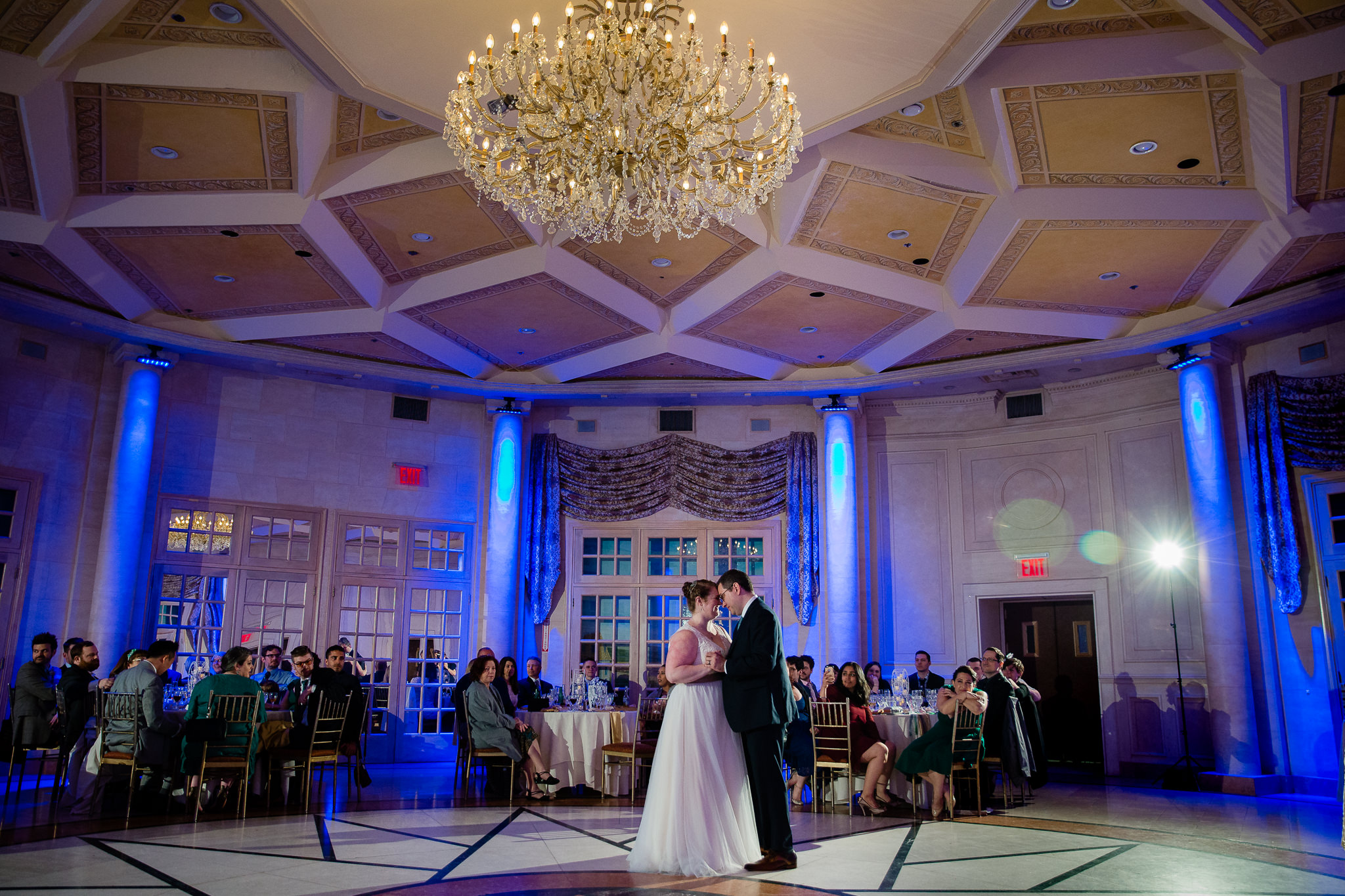 first dance at terrace on the park queens new york