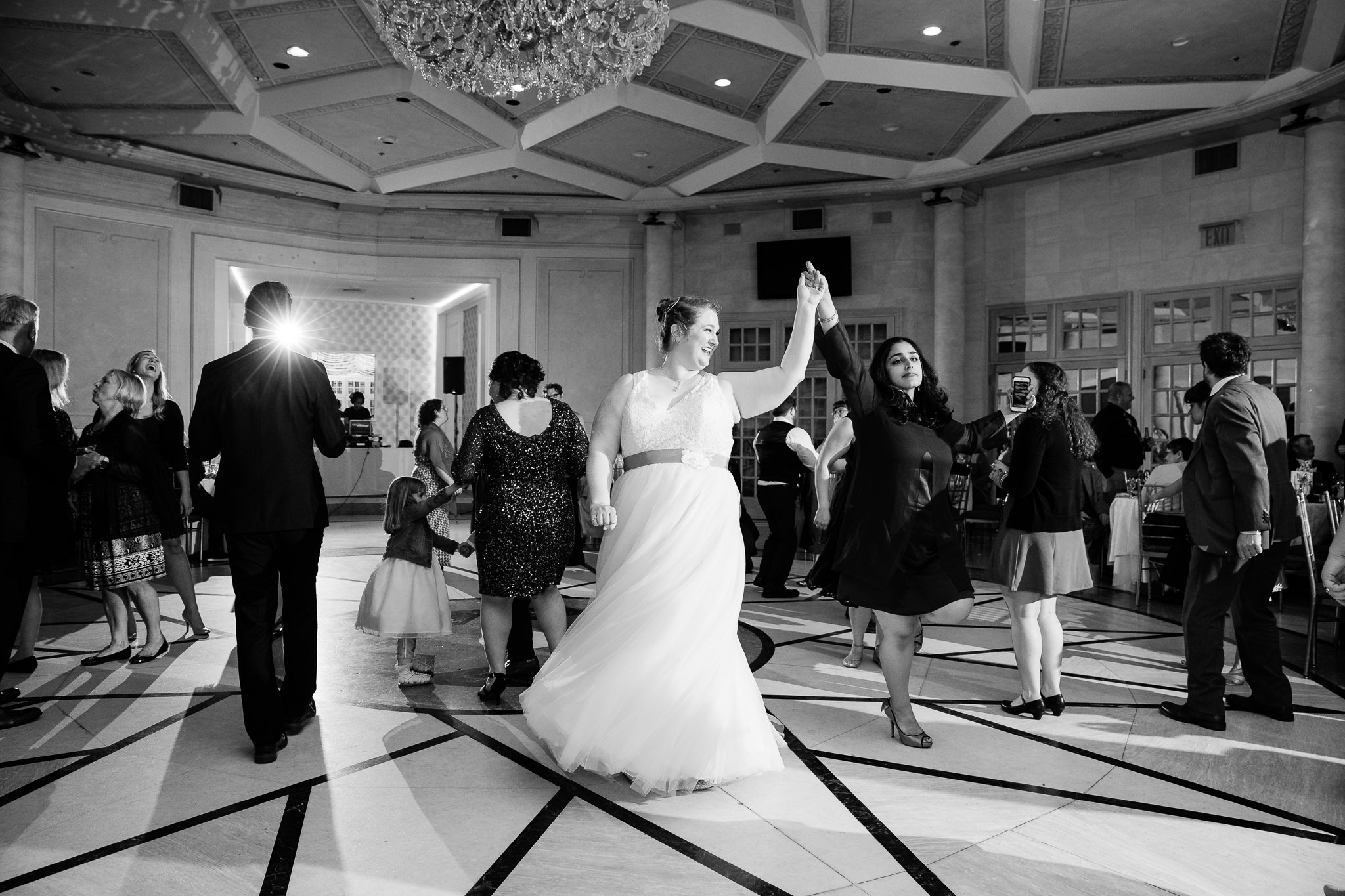 wedding reception at terrace on the park queens new york