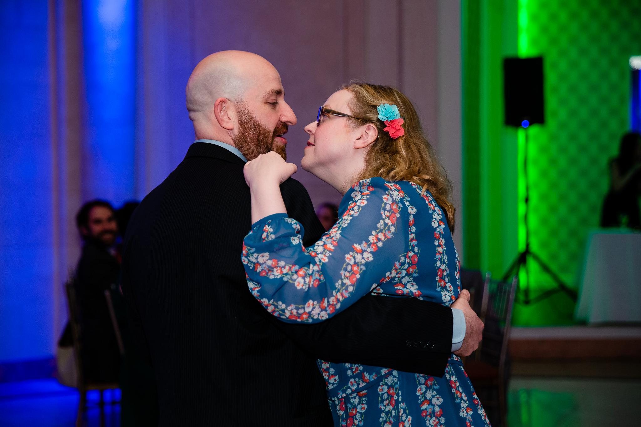 wedding reception dancing, queens new york