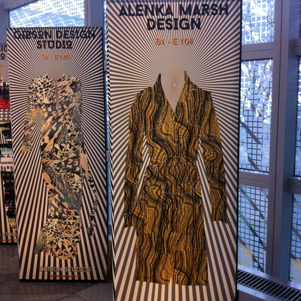 Munich Fabric Start - The Alenka Marsh Agency successfully presented my designs at the Munich Textile Fair, where my designs got exhibited as a trend selection for SS2017 in the presentation hall of Designers and Design Agencies.
