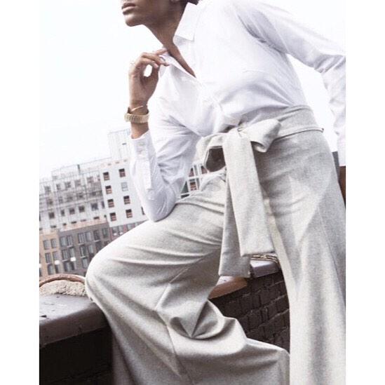 F l a r e.  Click the link in the bio to check out our amazing Grey Flare Leg Pants. #fashiondesigner #fashion #emergingdesigners #emergingdesigner #style #devonthomas #lifestyle #womeninfashion #beautiful #alwaysupportalent