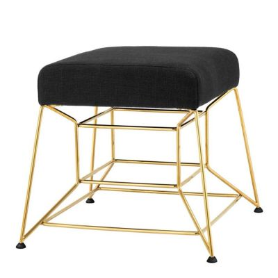 With Christmas just days away our thoughts turn to family and friends gathering and sudden panic sets in about additional seating! This dazzling stool would be just the thing to accomodate our temporary guests.