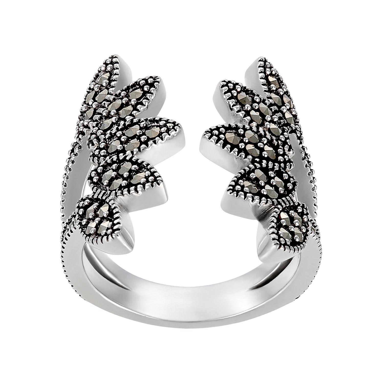 Jan Leslie leaf ring