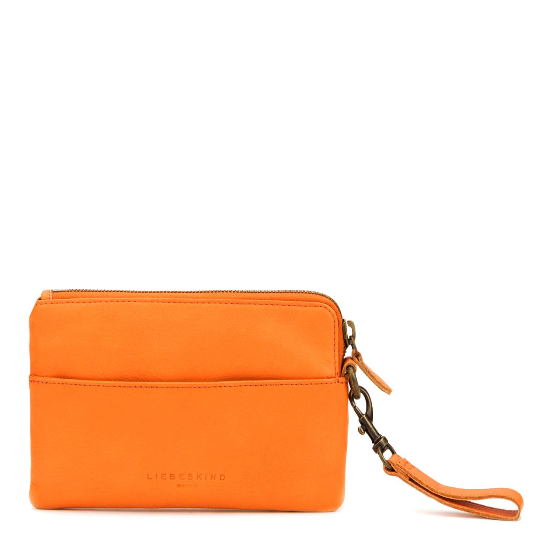 Orange Liebeskind clutch