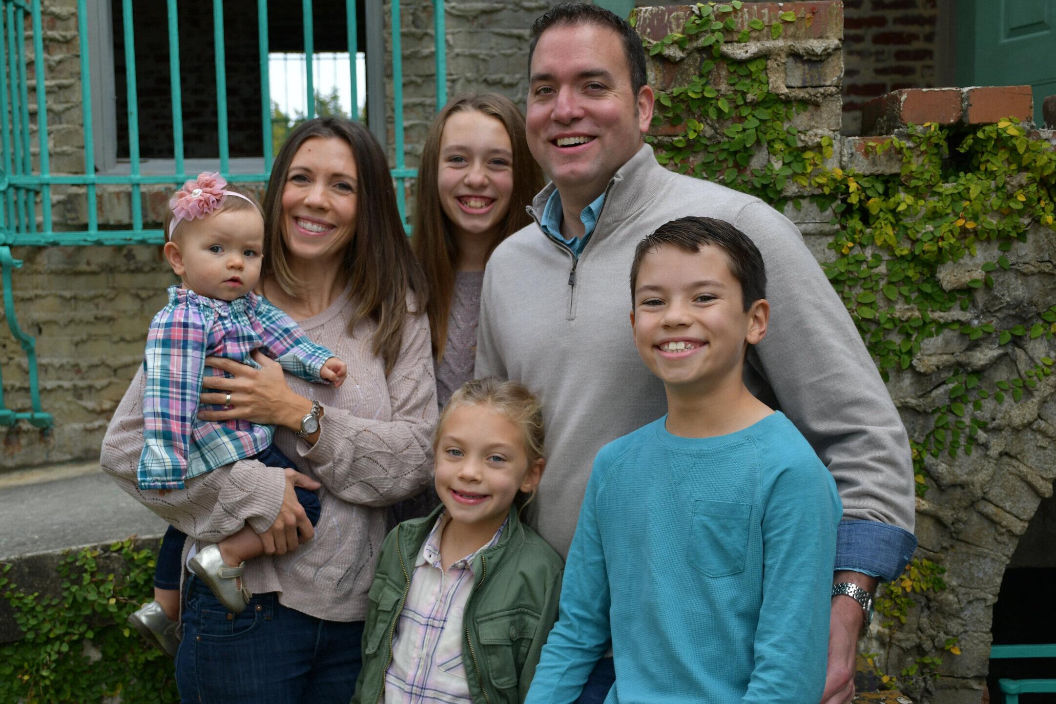 Pastor zahn and family