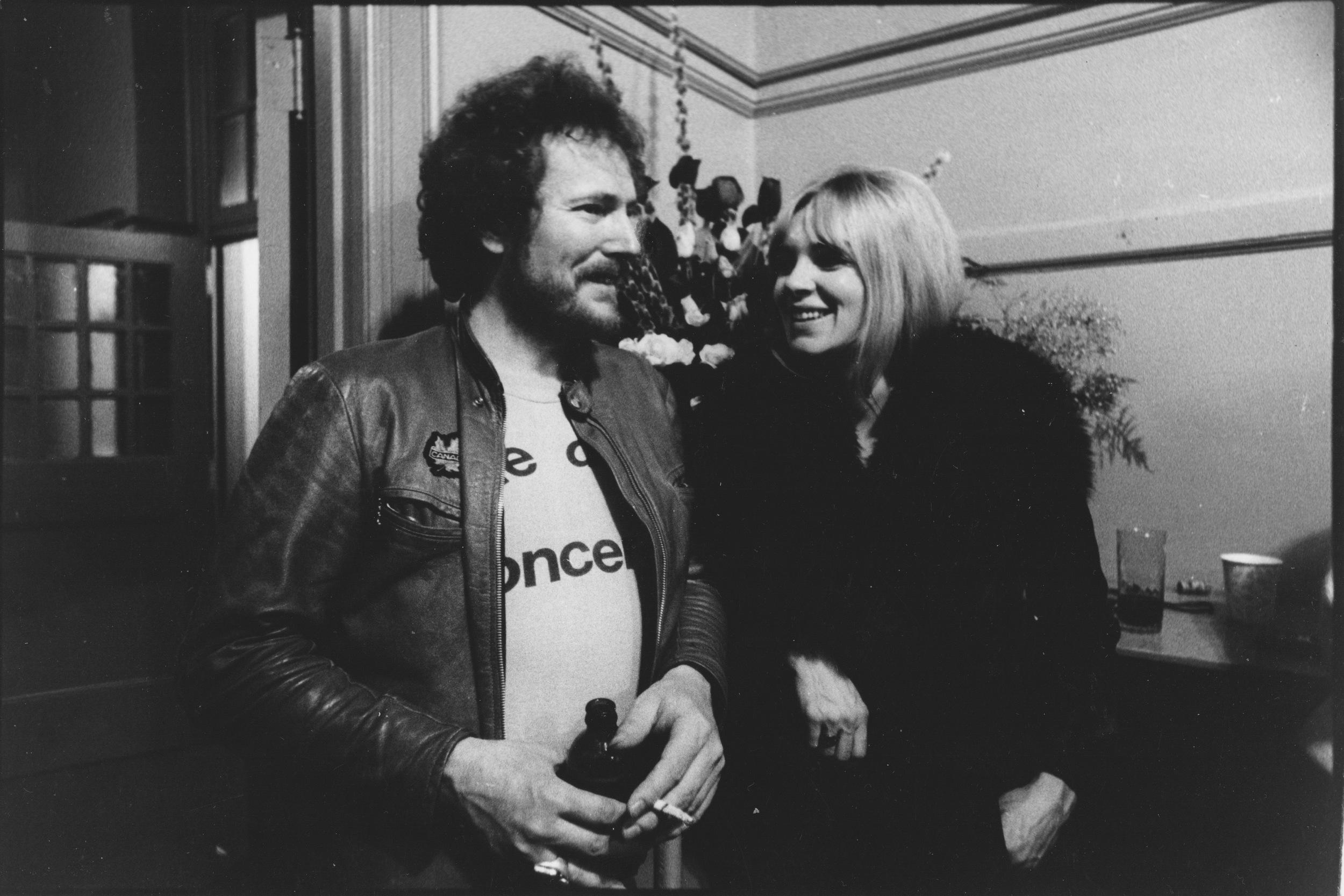 1976 with Gordon Lightfoot