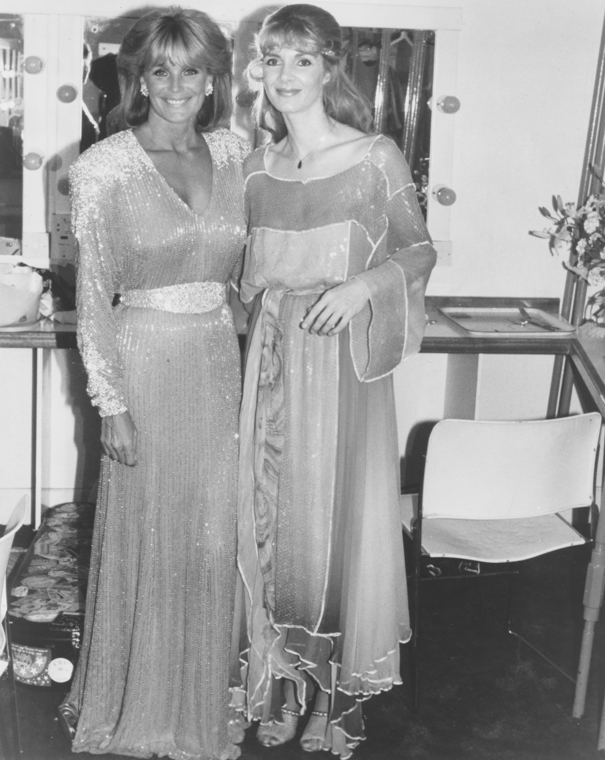 1985 with Linda Evans
