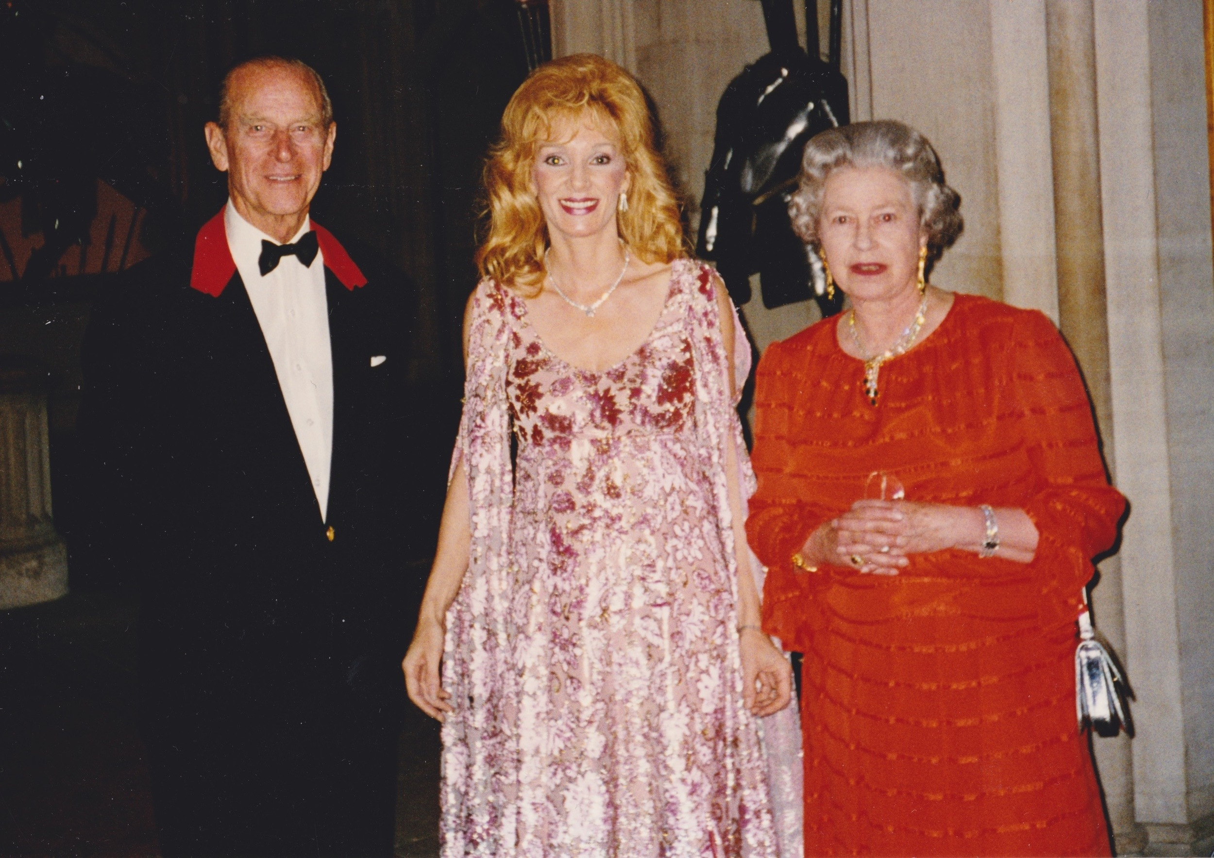 1996 with Prince Philip and The Queen