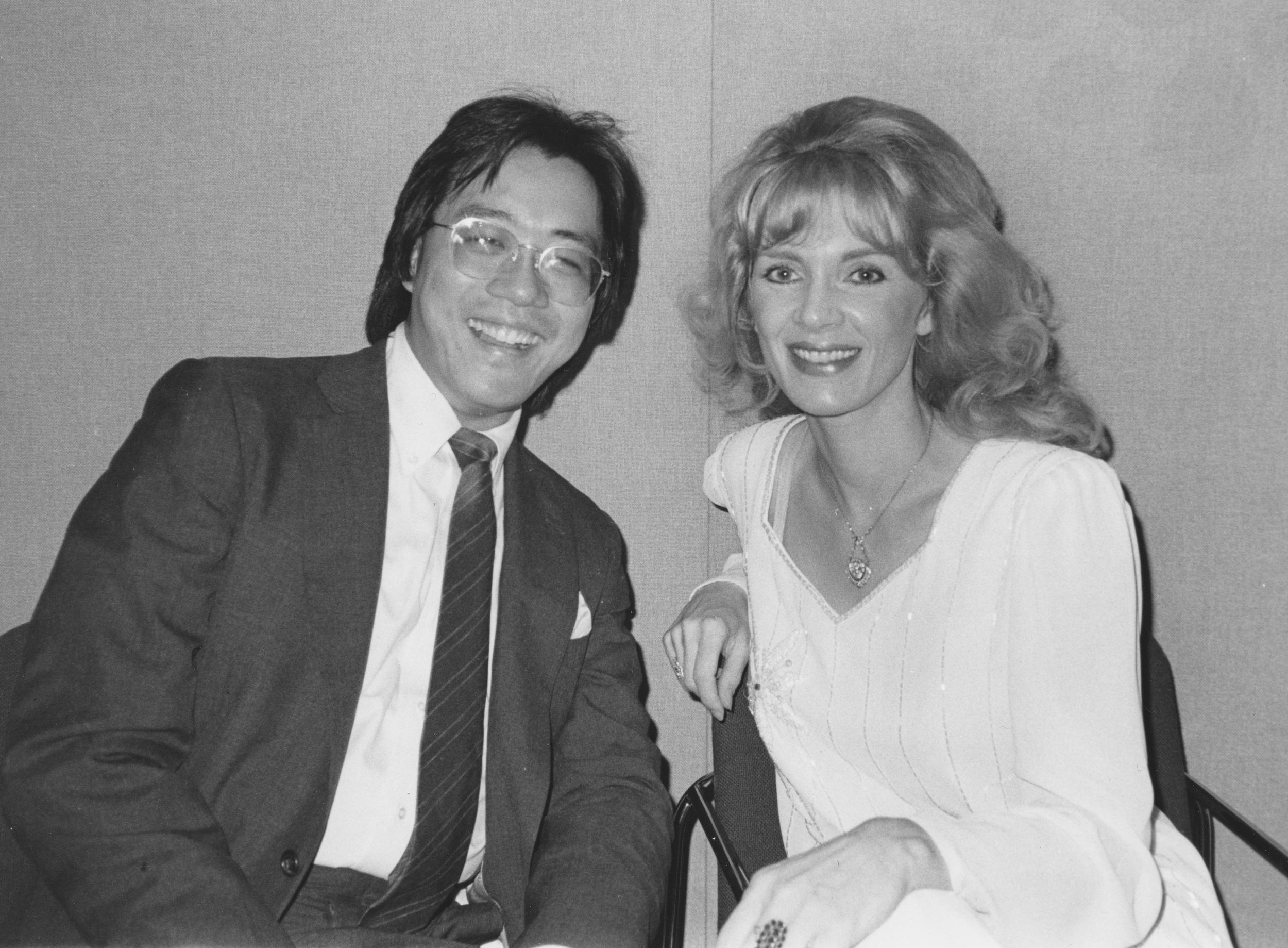 1986 with Yo Yo Ma