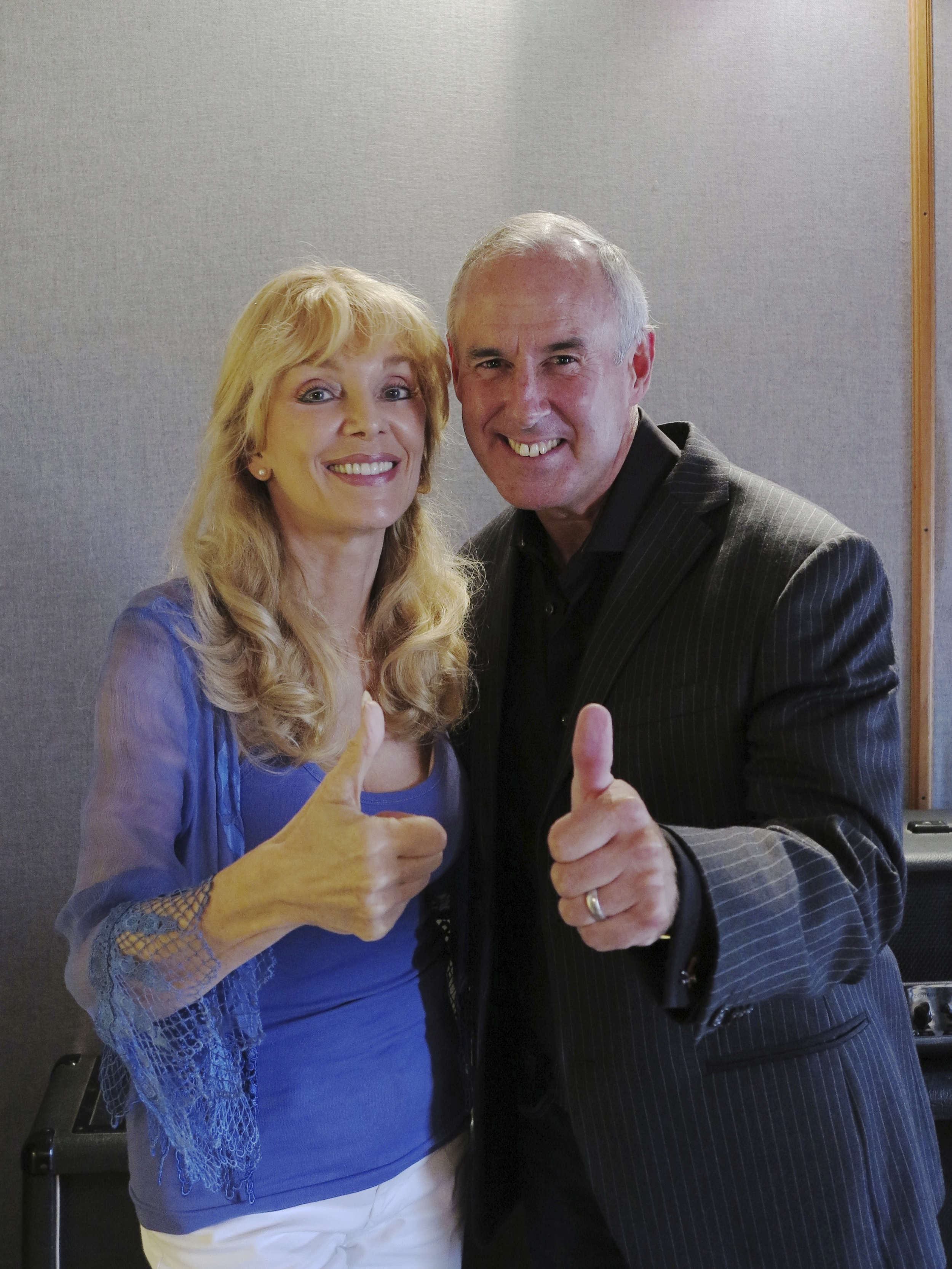 """2013 with Ron MacClean, during recording sessions for """"The Return…"""""""