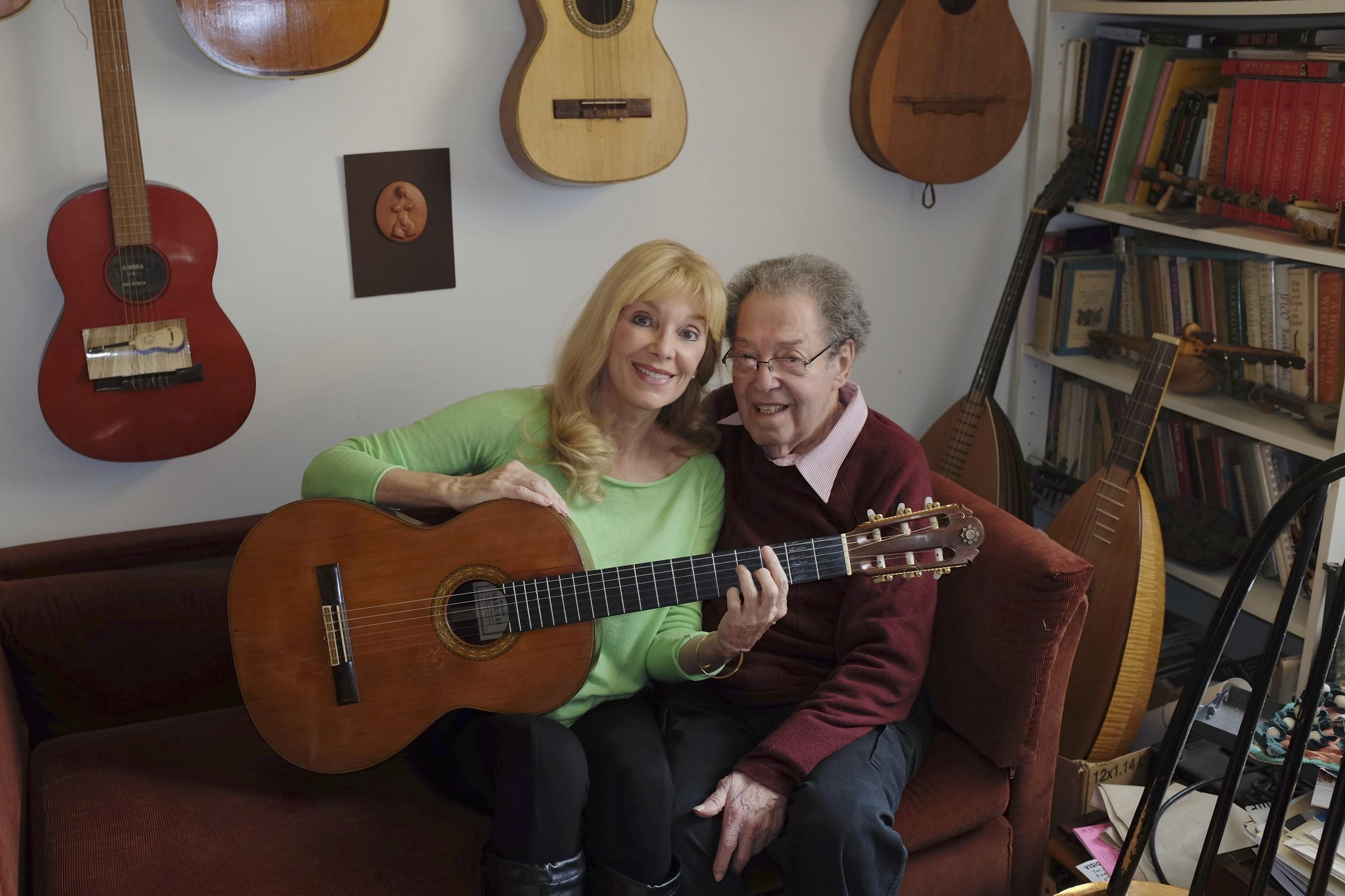 2014 with Eli Kassner, Liona's original guitar teacher