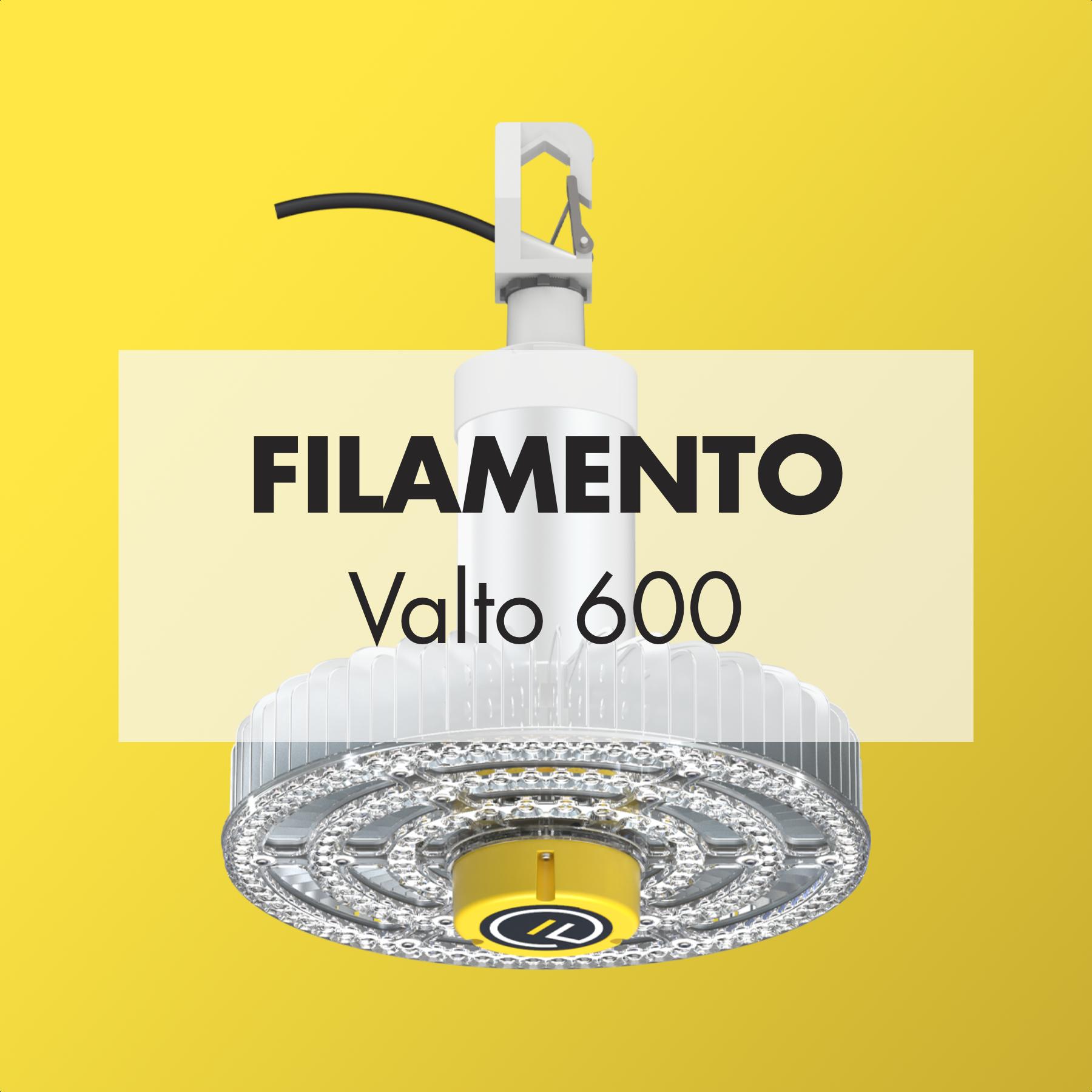 INDUSTRIAL  Filamento | Valto 600   Brochure ;  Case Study