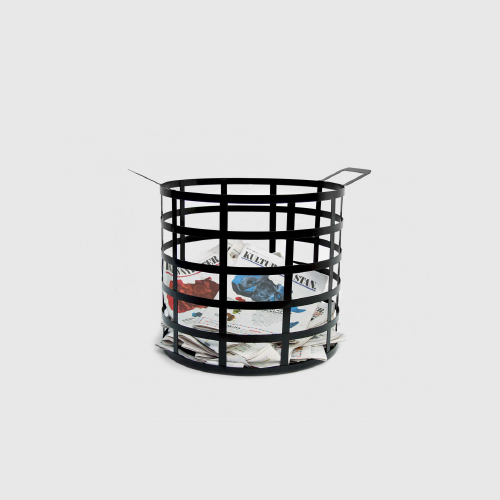 Cage Steel Basket  by Jonas Wagell