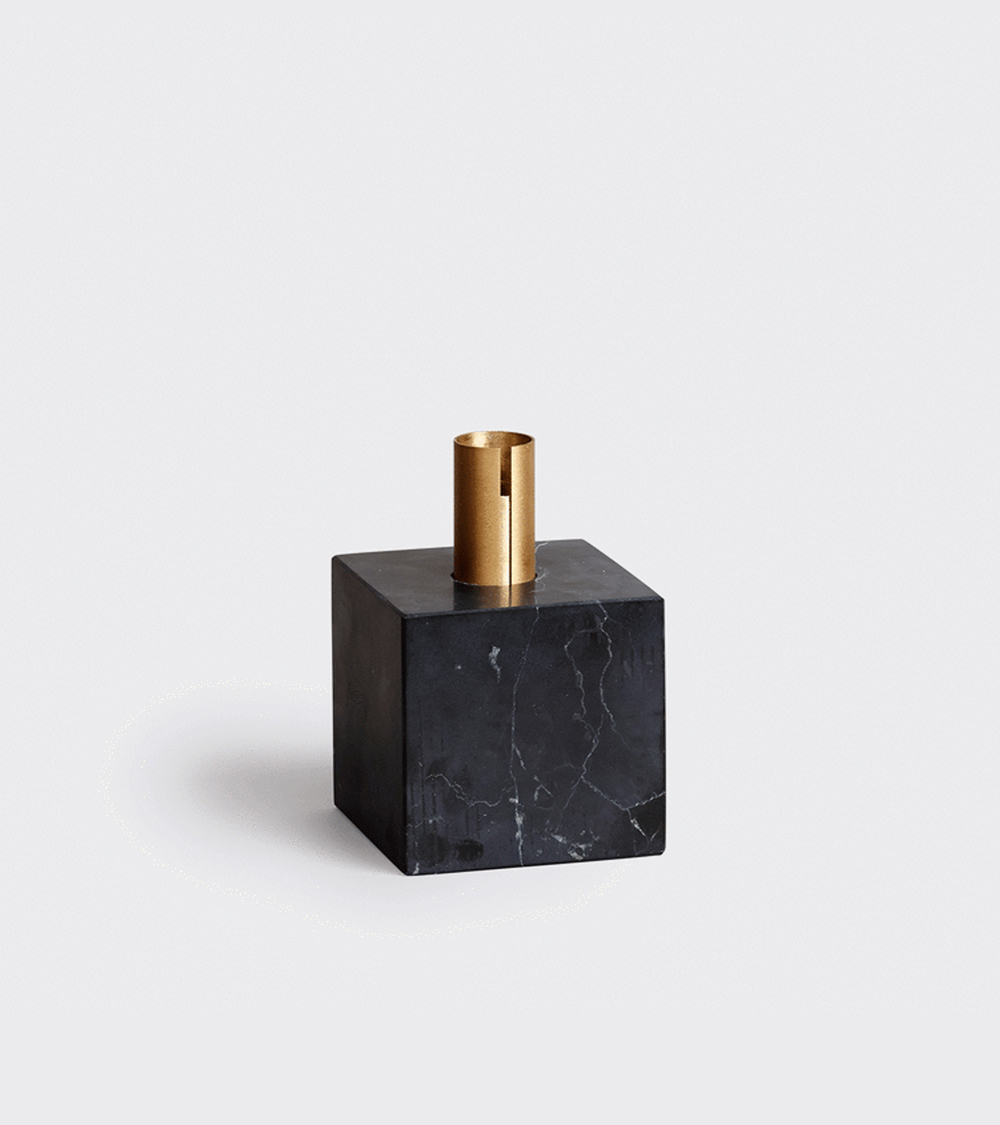 Block Candle Holder  by Malene Birger