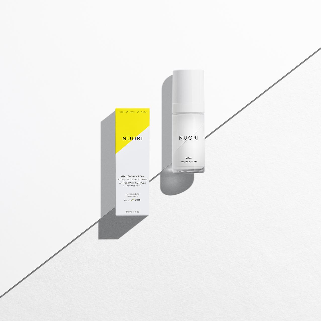Vital Facial Cream by NUORI