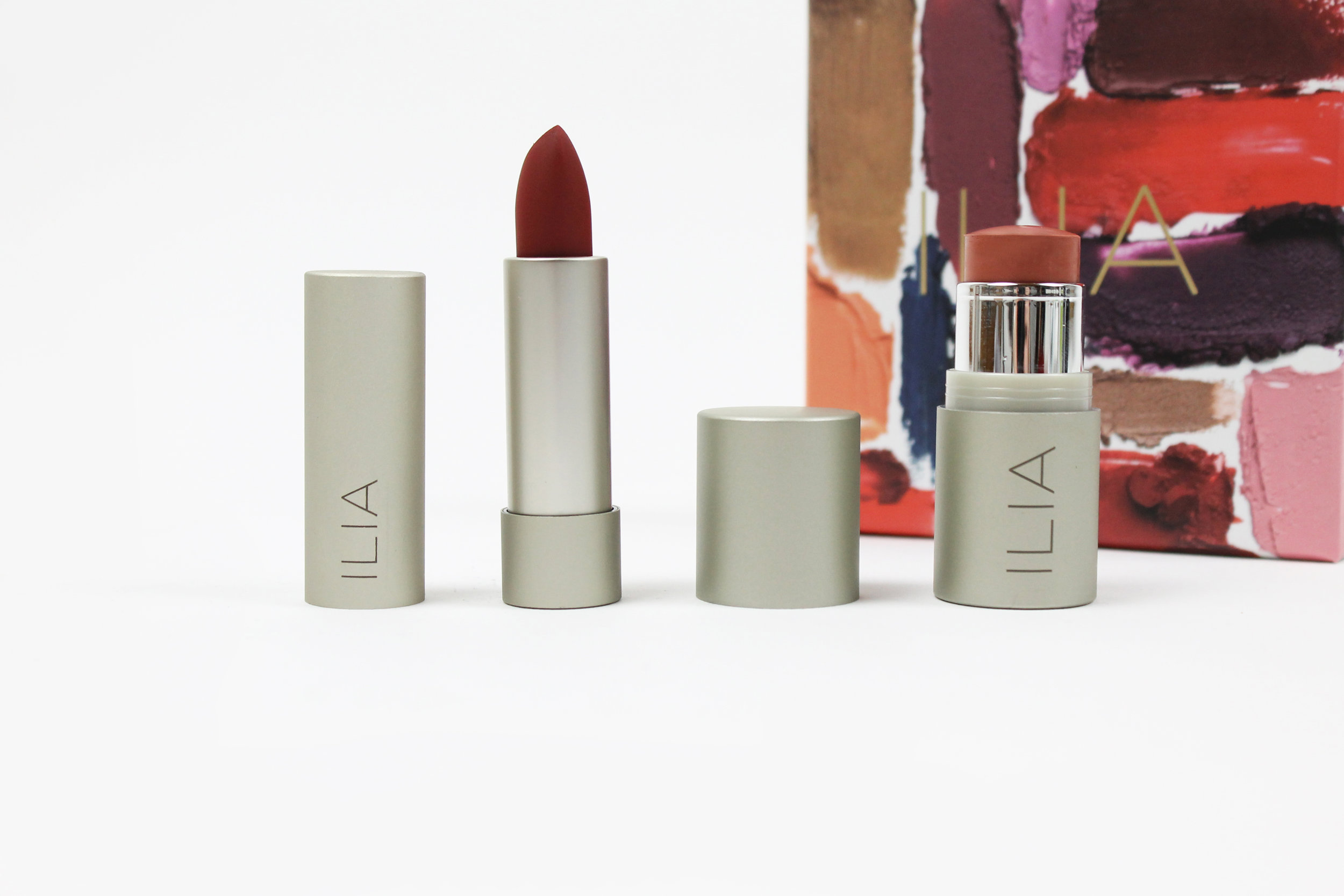 ILIA - a prestige line of natural and organic beauty products that combine superior colour performance and nourishing organics. ILIA Beauty was founded by the inspiration to create a connection between organic beauty and contemporary fashion.  The ILIA Beauty - Love Me Do Gift Set. Shop it  here .