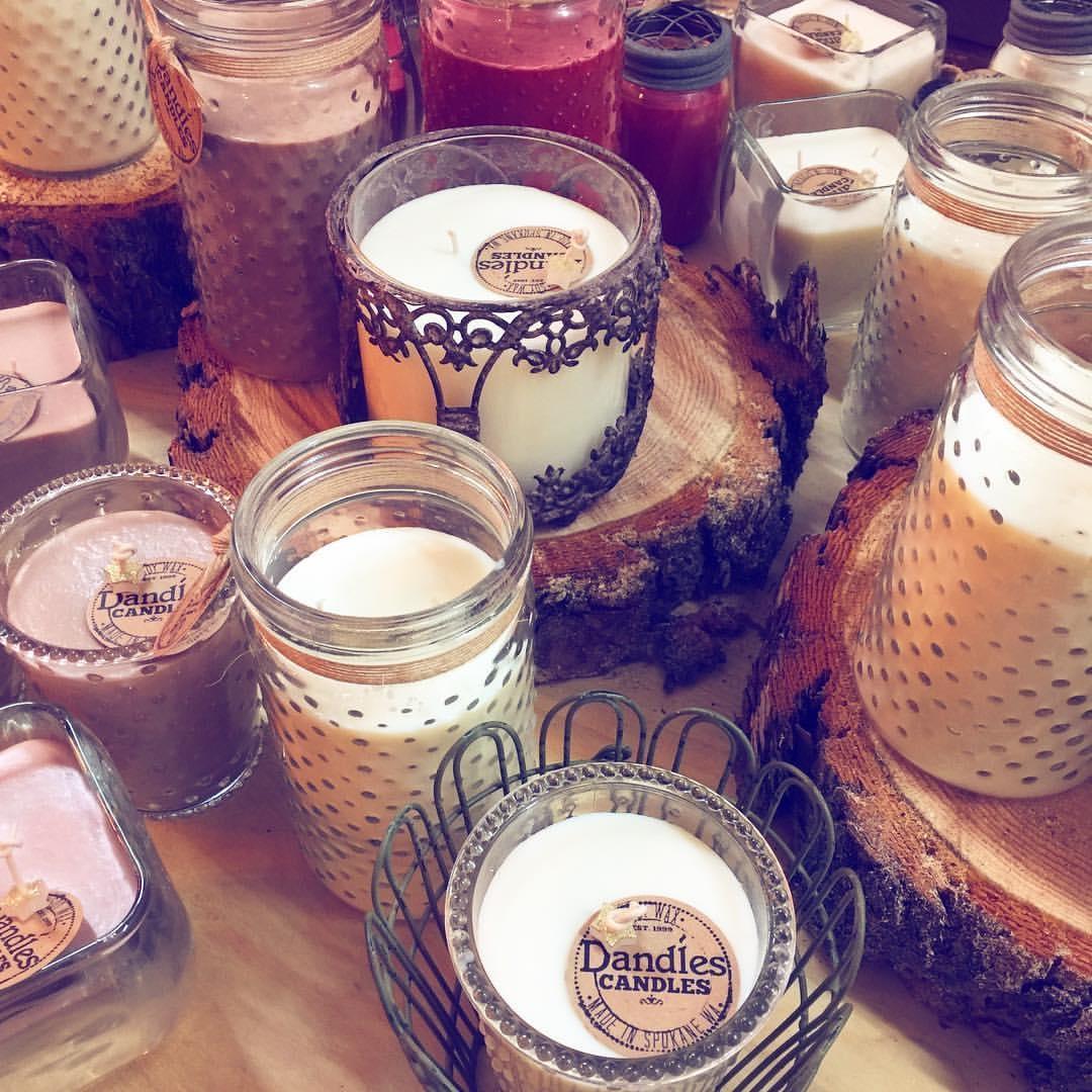 Dandles Candles Holiday Table